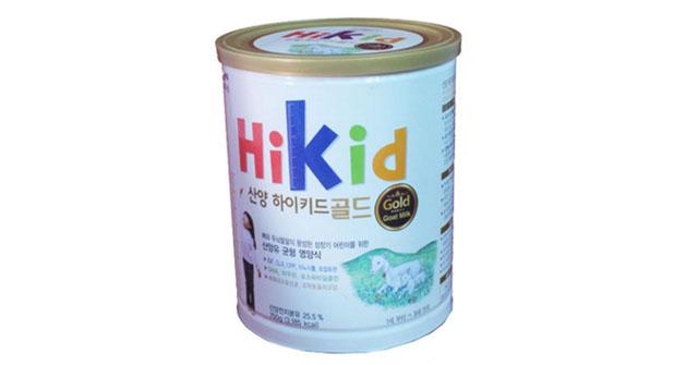 Sữa bột Hikid dê núi