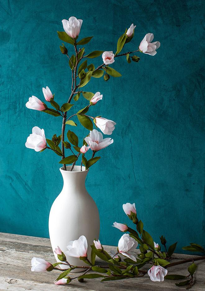 3 cách làm hoa giấy trang trí nhà đẹp xinh yêu - Ảnh 11.
