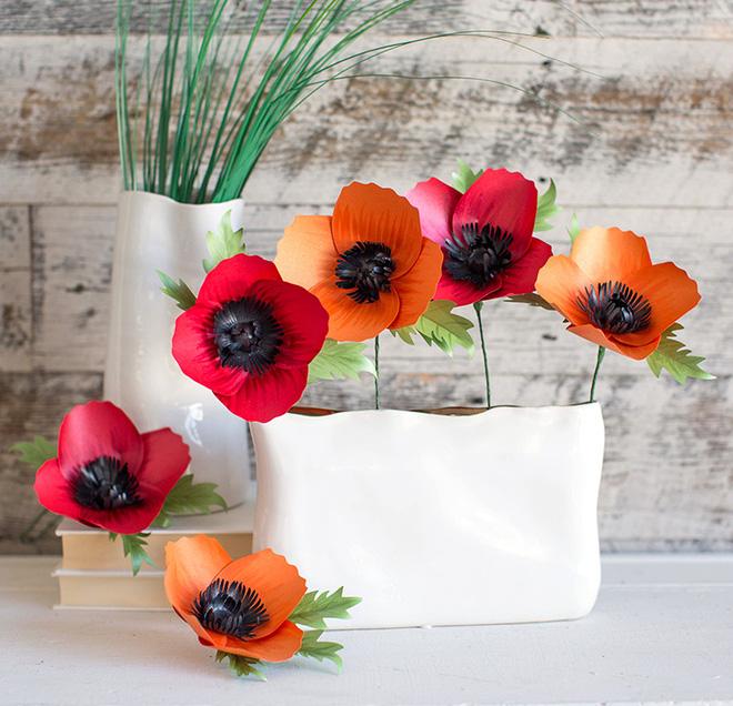 3 cách làm hoa giấy trang trí nhà đẹp xinh yêu - Ảnh 7.