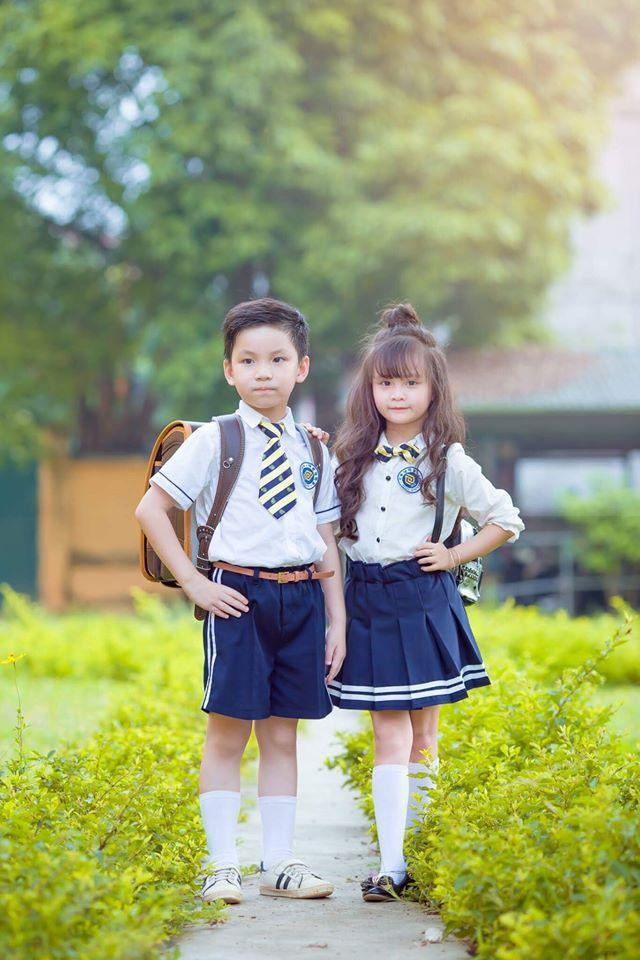 """Sau kỷ yếu mẫu giáo, Hoa khôi nhí Tuyên Quang lại khiến dân mạng sục sôi với bộ ảnh """"Tạm biệt lớp 1"""" - Ảnh 10."""