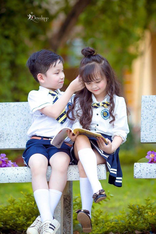 """Sau kỷ yếu mẫu giáo, Hoa khôi nhí Tuyên Quang lại khiến dân mạng sục sôi với bộ ảnh """"Tạm biệt lớp 1"""" - Ảnh 13."""