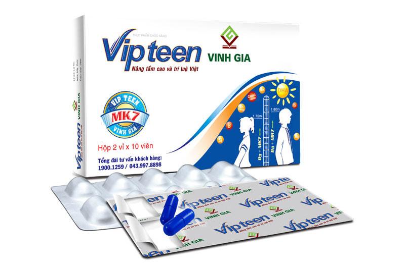 Thuốc tăng chiều cao Vipteen