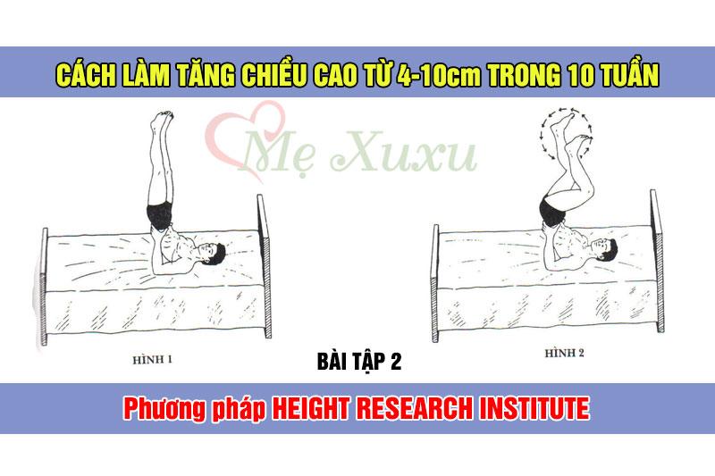Bài tập 2 - Phương pháp tăng chiều cao Height Research Institute