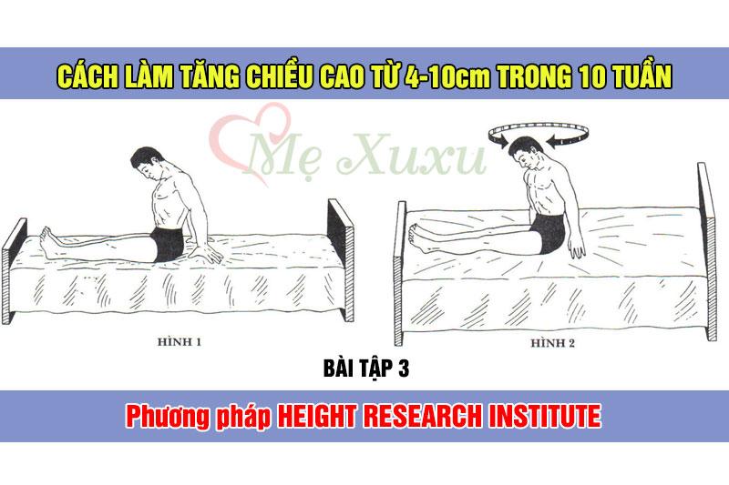 Bài tập 3 - Phương pháp tăng chiều cao Height Research Institute