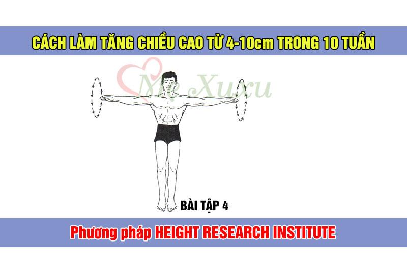 Bài tập 4 - Phương pháp tăng chiều cao Height Research Institute