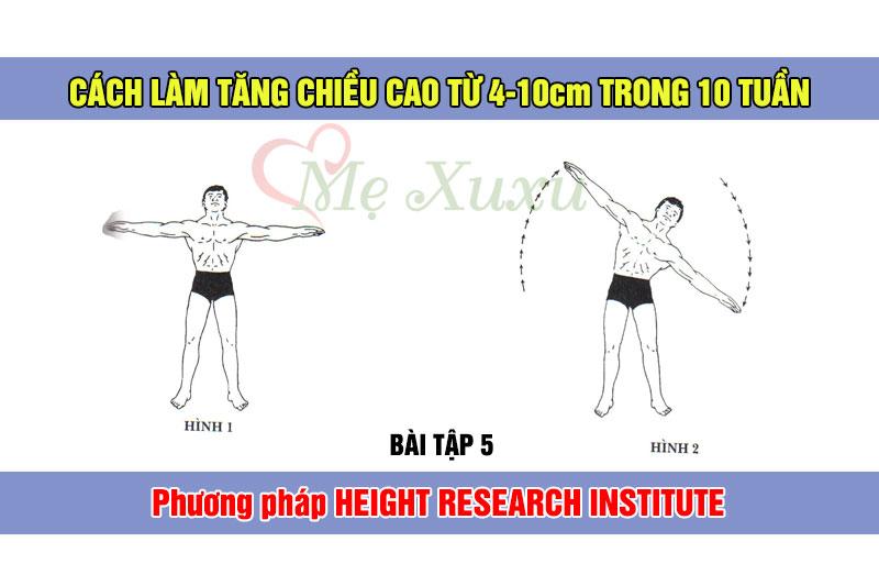Bài tập 5 - Phương pháp tăng chiều cao Height Research Institute