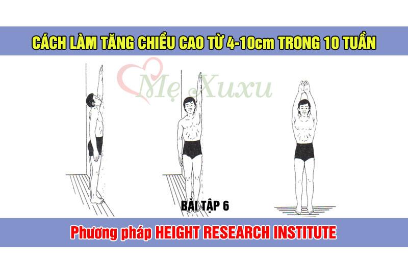 Bài tập 6 - Phương pháp tăng chiều cao Height Research Institute