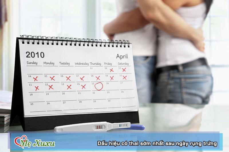 5 dấu hiệu có thai sớm nhất sau ngày rụng trứng