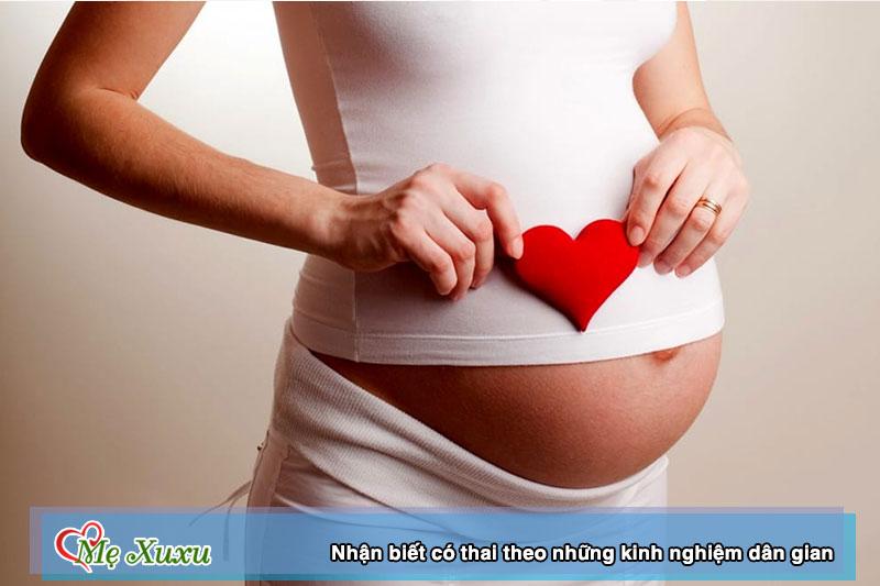 8 dấu hiệu có thai theo kinh nghiệm dân gian