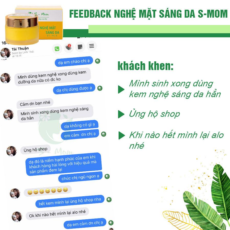Review Kem nghệ S Mom từ các chị đẹp